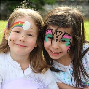 Oregon Face Painter | COLORFUL FACES