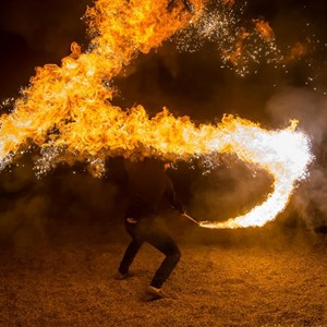 Riverside, CA Fire Dancer | Jay Flameshadow