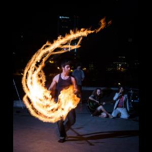 Los Angeles Fire Dancer | John-Michael