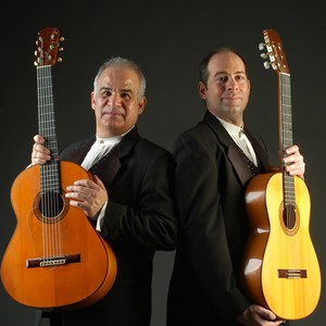 Farmersville Acoustic Duo | Fernandez + Kimball Spanish Guitars