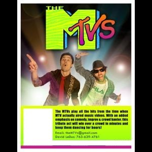 The MTVs - 90s Band - Minneapolis, MN