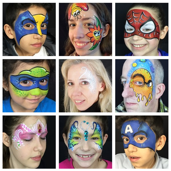 Face Paint Pizzazz - Face Painter - Elgin, IL