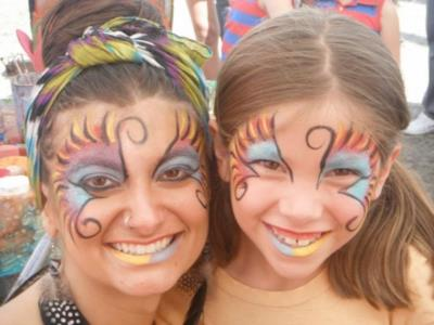 Heather Feather | Saint Paul, MN | Face Painting | Photo #1