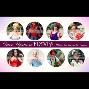White Costumed Character | Once Upon A Fiesta
