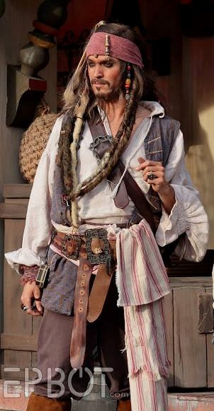 Captain Jack Sparrow - Johnny Depp Impersonator - Whittier, NC