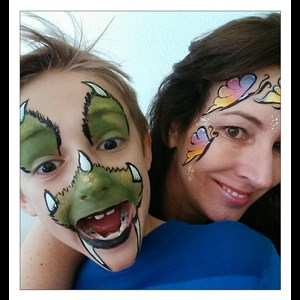 Hawk Springs Face Painter | The Drake Parlor Entertainment