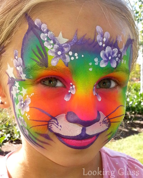 Looking Glass Painting - Face Painter - Vancouver, BC