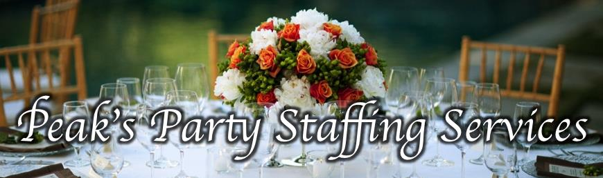 Peaks Party Staffing Service