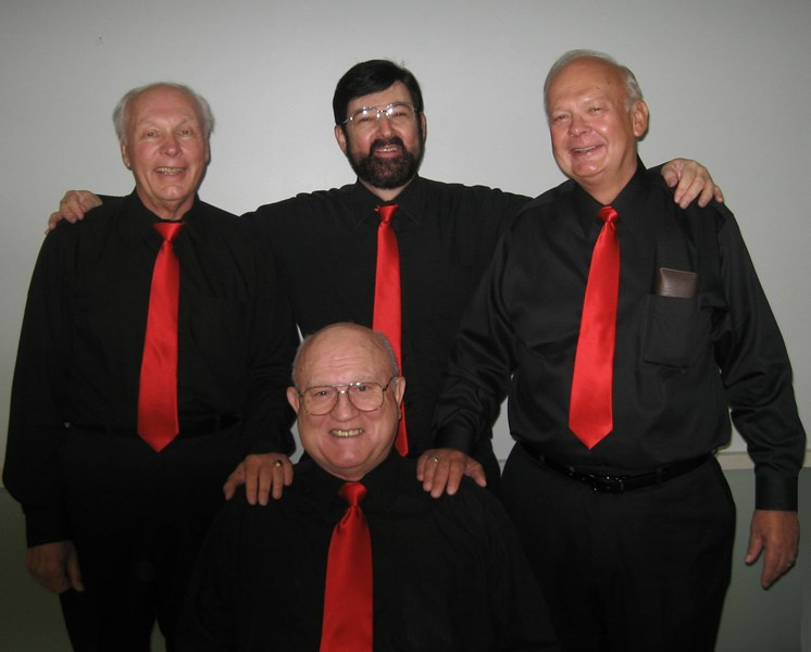Moonlighters quartet - Barbershop Quartet - Downers Grove, IL
