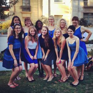 Women's Blue and White - A Cappella Group - Claremont, CA