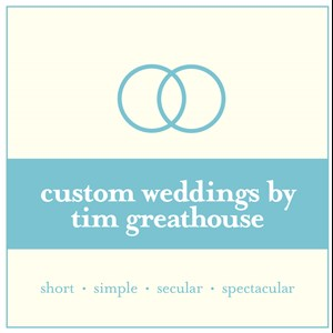 Akron Wedding Officiant | Tim Greathouse, Ohio Wedding Officiant