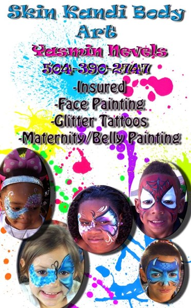 Skin Kandi Face Painting - Face Painter - New Orleans, LA