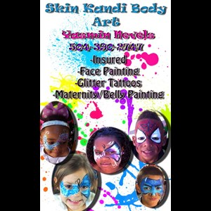 New Orleans Face Painter | Skin Kandi Face Painting