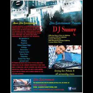 DJ Sunny/Gita Entertainment - Event DJ - San Antonio, TX