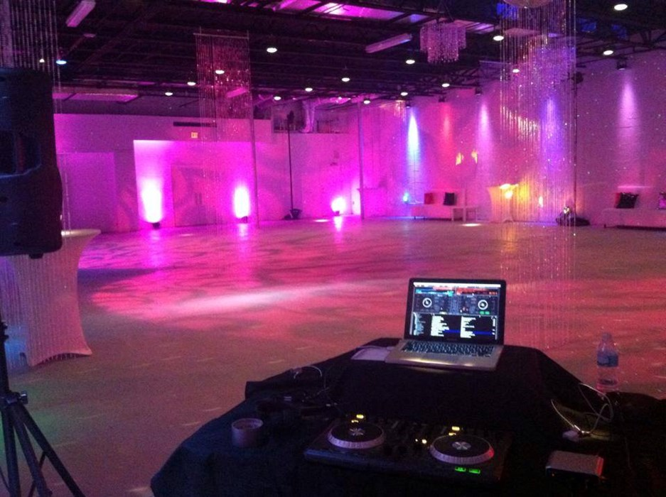 South Beach Party set up ( 2014 )