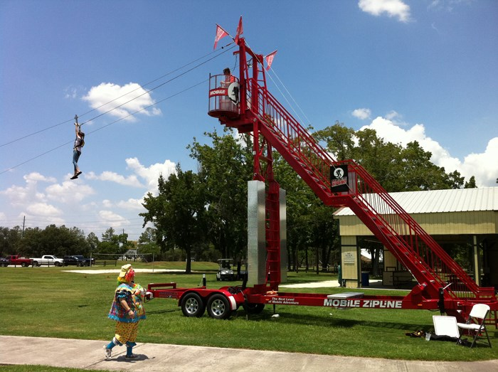 Mobile Zip Line Rental Dallas