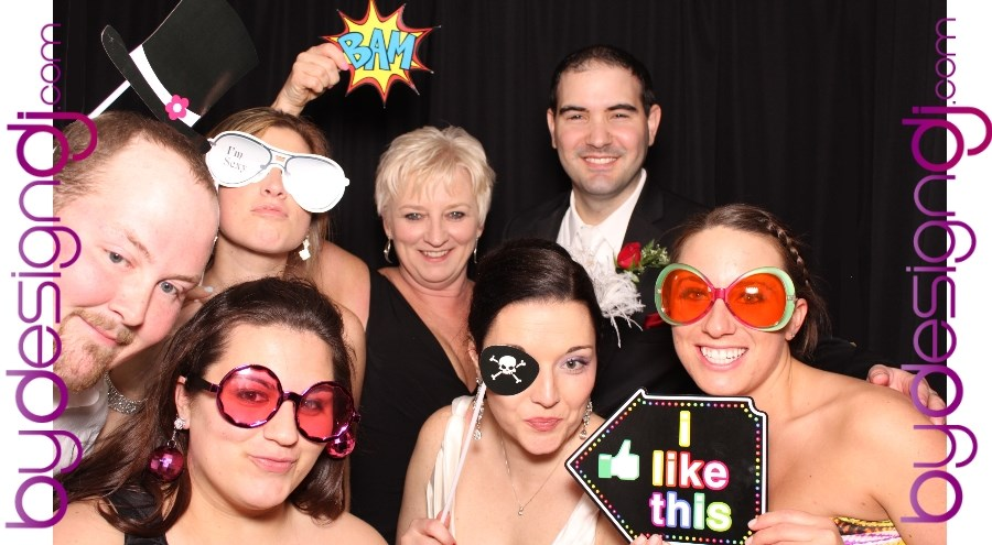photo booth for weddings in nj