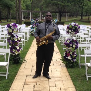 Harwood Trumpet Player | Saxophonist Jamal Riley & Company