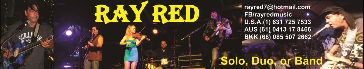 Ray Red #1 Solo Entertainer on Long Island