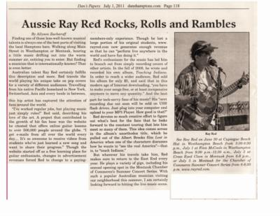 Ray Red #1 Solo Entertainer on Long Island | Sag Harbor, NY | Rock Acoustic Guitar | Photo #2