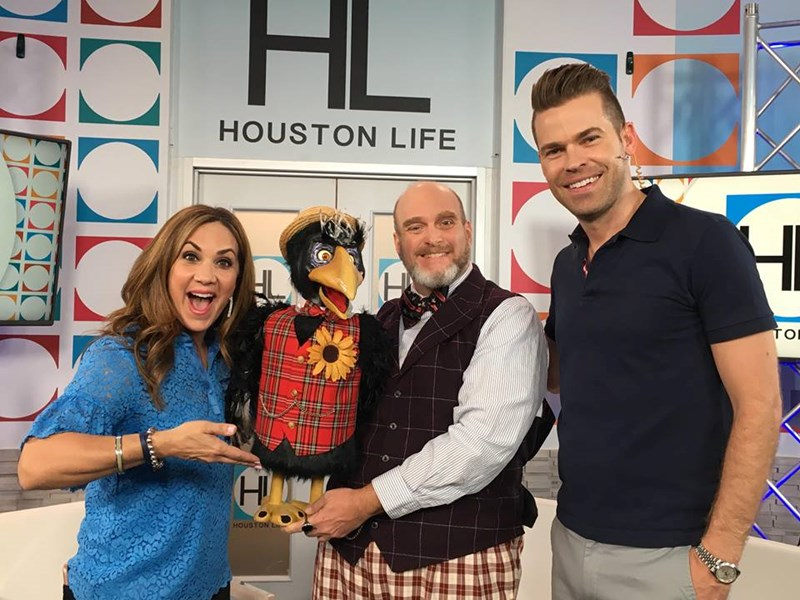 Appearing on HOUSTON LIFE KPRC 2