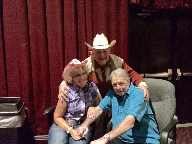 With my friend Mickey Gilley