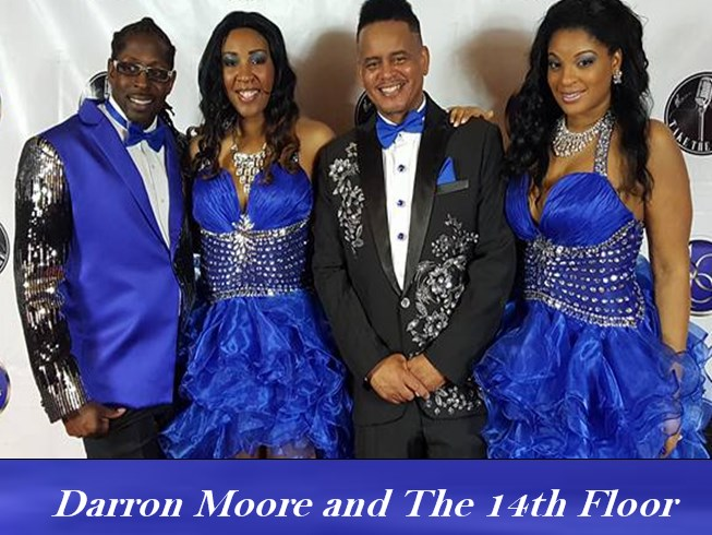 Darron Moore And The 14th Floor - Motown Band - Detroit, MI
