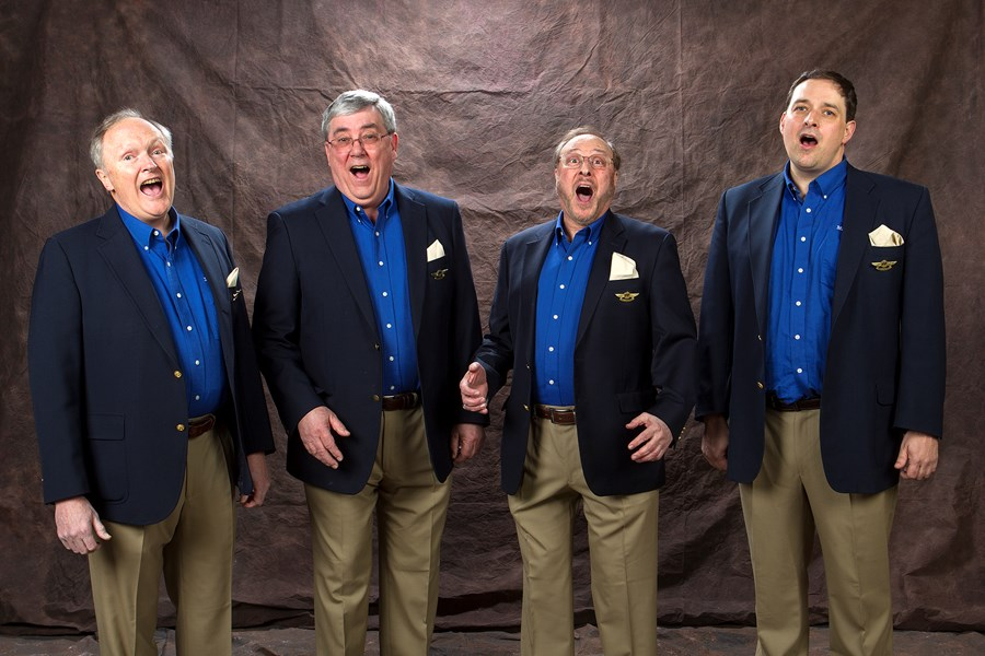 Traveling Men - Barbershop Quartet - Danbury, CT