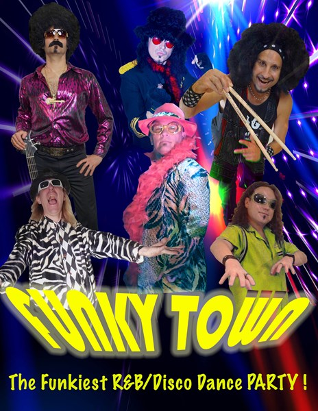 FUNKY TOWN- THE BEST DISCO/FUNKY BAND IN THE USA - Cover Band - Las Vegas, NV