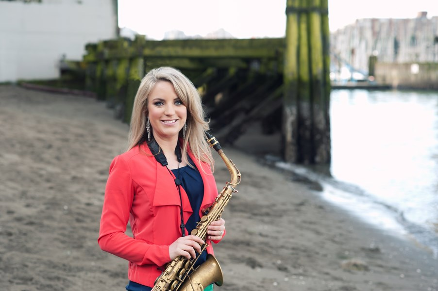 Karla Sax with Electronic Tracks - Saxophonist - Vancouver, BC
