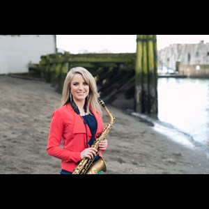 British Columbia Saxophonist | Karla Sax with Electronic Tracks