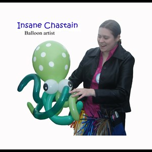 Ethel Balloon Twister | Insane Chastain Balloons