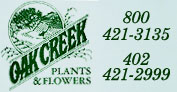 Oak Creek Plants & Flowers - Florist - Lincoln, NE