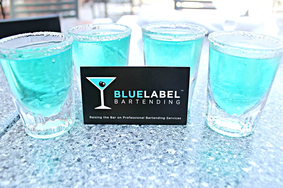 Blue Label Bartending