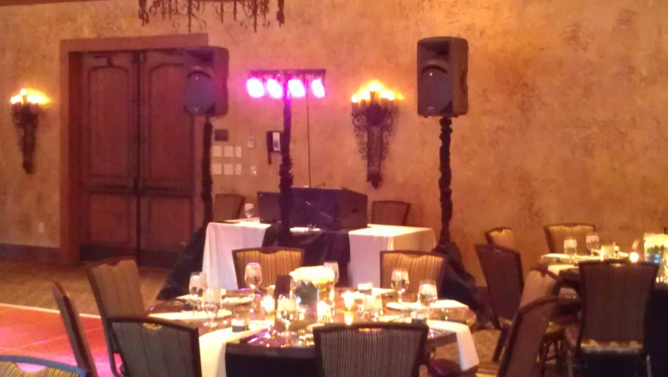 Simple setup at Gervasi