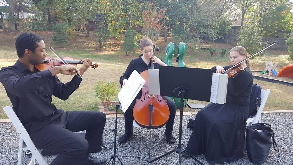 Lovely string trio music!