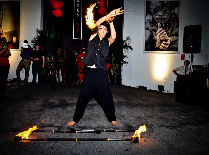 Rysha - Fire Performer - Fire Dancer - Miami, FL