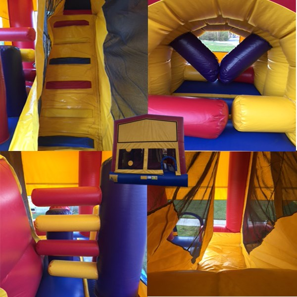 Huge 6 in 1 Obstacle Bouncer - $200