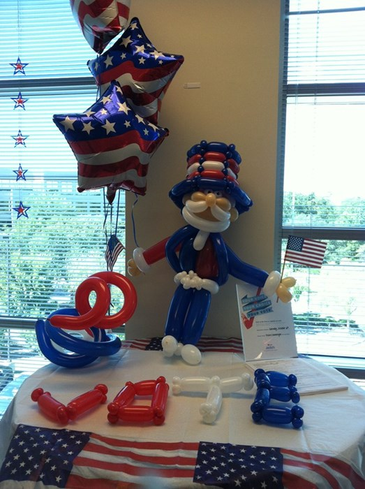 Uncle Sam for your next party?