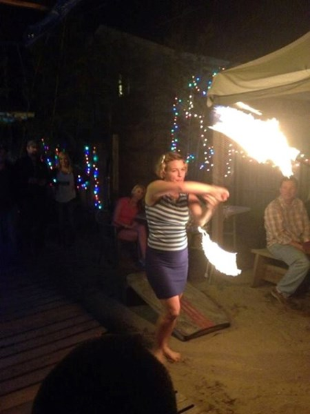 Girls on Fire - Fire Dancer - Wilmington, NC