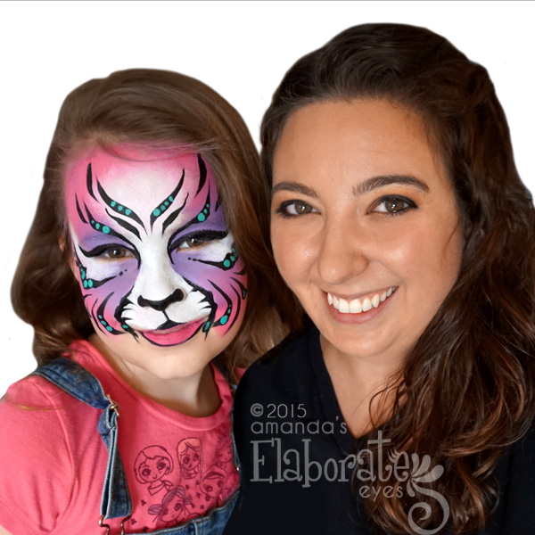 Elaborate Eyes Face Painting - Face Painter - Parma, OH