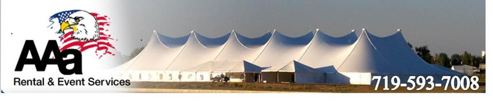AAa Rental - Party Tent Rentals - Colorado Springs, CO