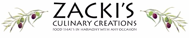 Zacki's Culinary Creations - Caterer - Durham, NC