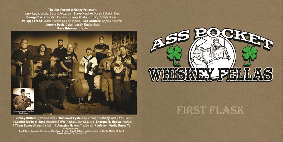 Ass Pocket whiskey Fellas - Irish Band - San Diego, CA