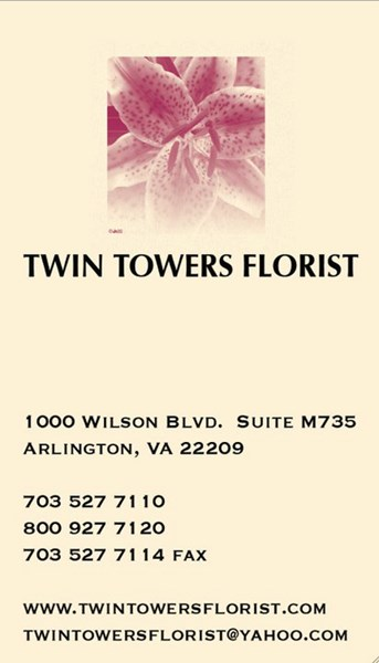 Twin Towers Florist - Florist - Arlington, VA