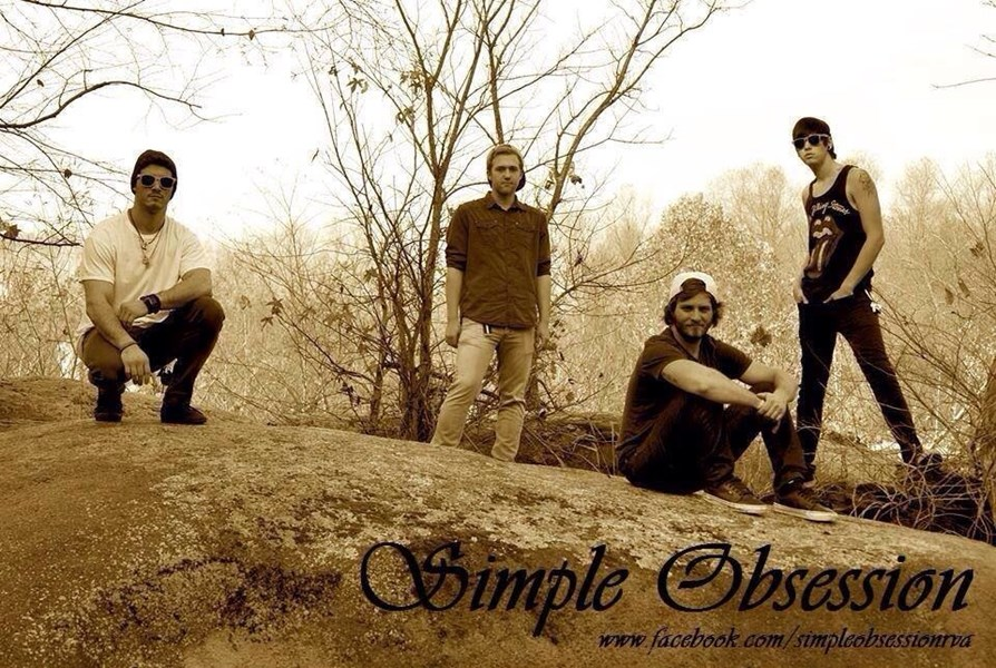 Simple Obsession - Rock Band - Richmond, VA