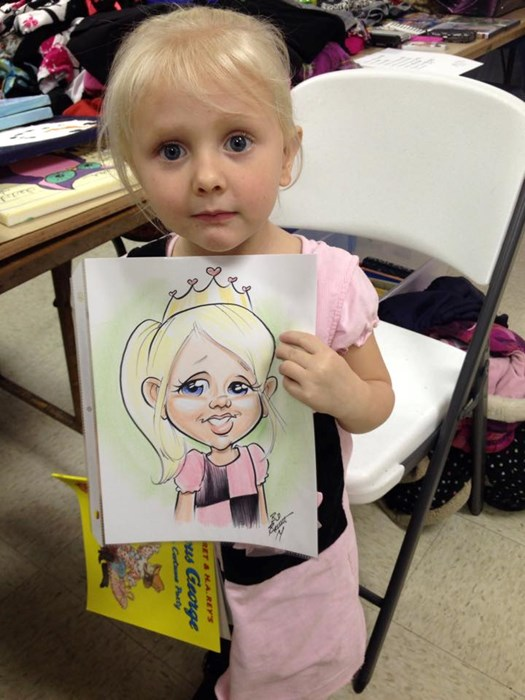 Live Color Caricatures