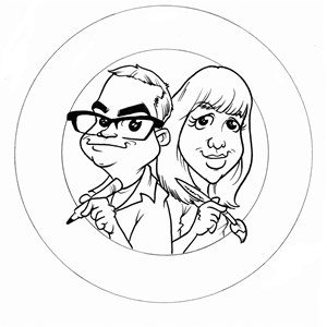 Port Clinton Caricaturist | Grin-n-Barrett