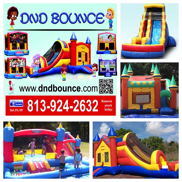 DnD Bounce - Bounce House - Tampa, FL