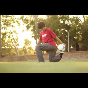 Orange Juggler | Freestyle Soccer Entertainment